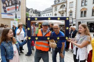 WSM-2019 am Samstag vor der Europawahl