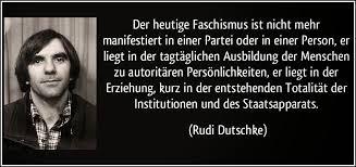 Rudi Dutschke zu Faschismus