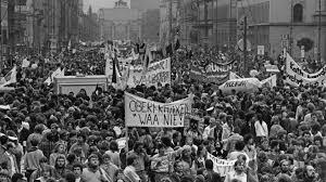 Protest gegen WAA